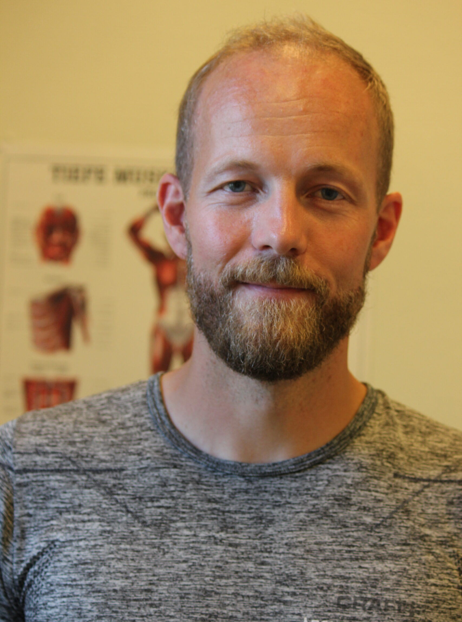 Fysioterapeut Jeppe Hvergel
