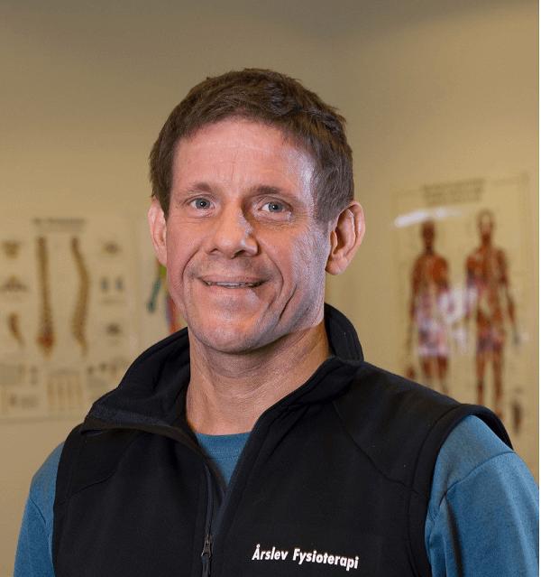 Fysioterapeut Victor Ladegourdie